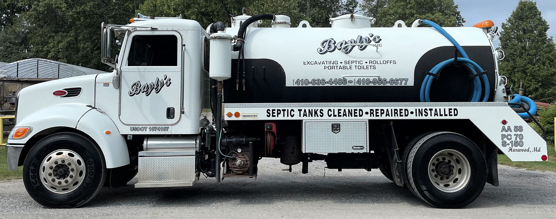 Edgewater, Glen Burnie and Pasadena Portable Toilet Rentals, Septic Company and Dumpster Cleaning